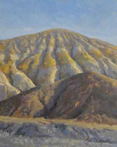 "Gina Niebergall, Golden Canyon/Death Valley, 20"" x 16"""